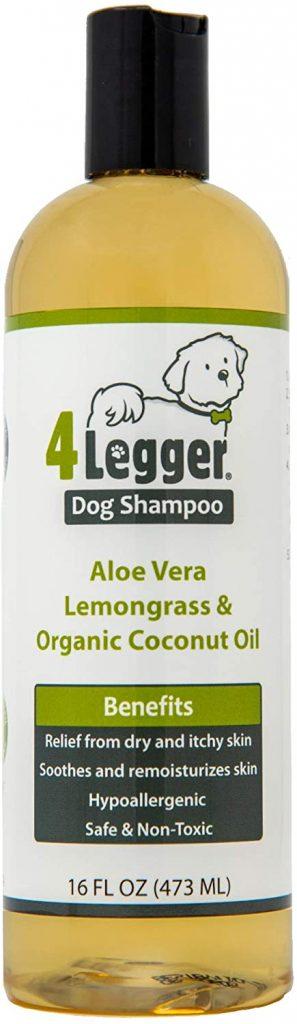 4-Legger Organic Hypoallergenic Lemongrass & Aloe
