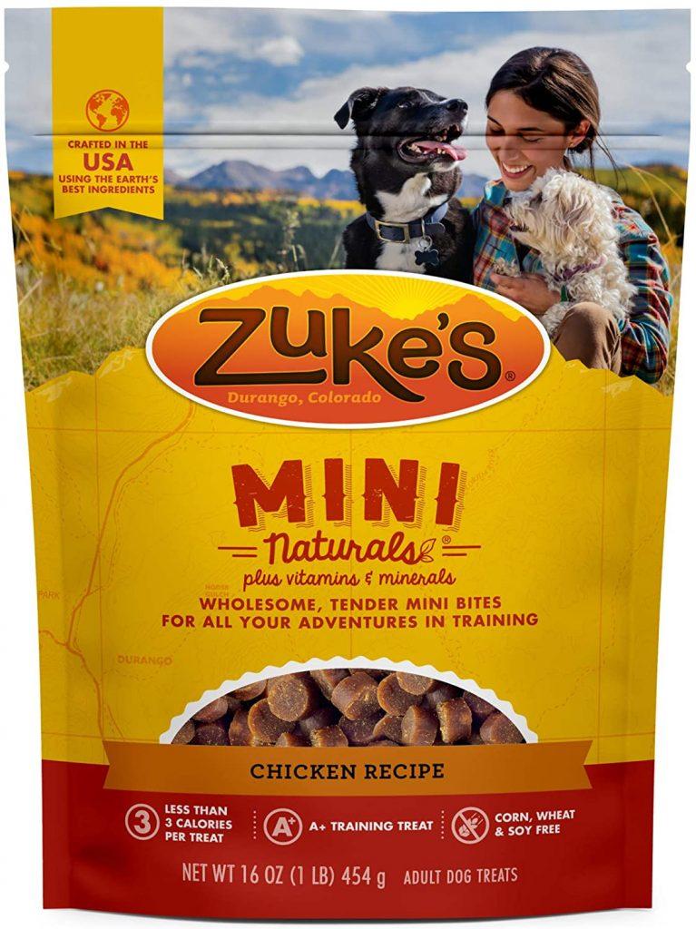 Zuke's Mini Naturals Healthy Moist Training